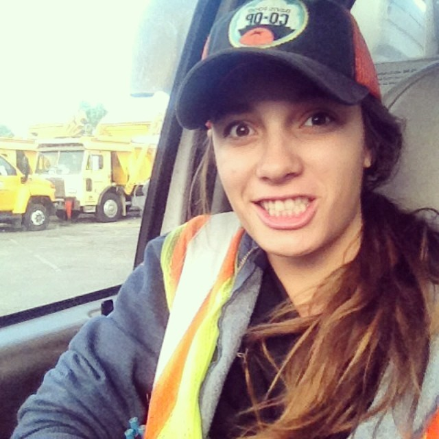 construction girl that could be your instagram name